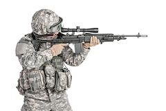 Paratrooper airborne infantry Stock Images