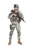 Paratrooper airborne infantry Royalty Free Stock Photo