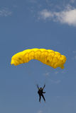 Paratrooper in the competition Red Bull Smaranda Order Royalty Free Stock Photography