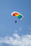 Paratrooper in the competition Red Bull Smaranda Order Stock Photo