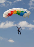Paratrooper in the competition Red Bull Smaranda Order Stock Image