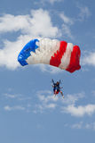 Paratrooper in the competition Red Bull Smaranda Order Stock Images