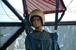 Paratrooper dummy Royalty Free Stock Images