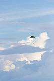 Paratrooper falling through the sky Royalty Free Stock Image