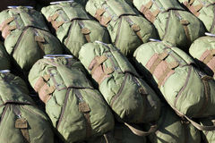 Paratrooper parachutes Stock Photos