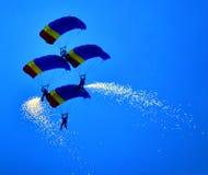 paratroopers Imagens de Stock