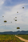 The paratroopers of the Air Force Stock Photos