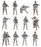 Paratroopers airborne infantry Royalty Free Stock Images