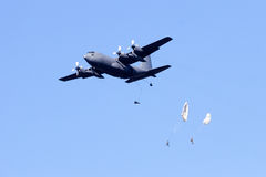 Paratroopers Stock Image