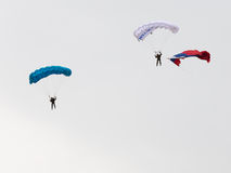 Paratroopers Royalty Free Stock Images