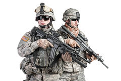 Paratroopers Stock Photos