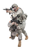 Paratroopers Stock Photography
