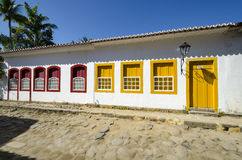 Paraty在巴西 免版税图库摄影