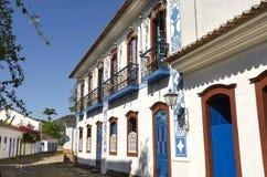 Paraty在巴西 免版税库存图片