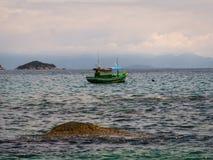 Paraty渔船 库存照片