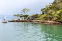 Paraty Bay and Boats Rio de Janeiro Brazil Royalty Free Stock Photos