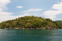 Paraty Bay Island Rio de Janeiro Brazil Royalty Free Stock Images