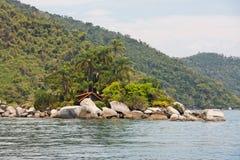 Paraty Bay Rio de Janeiro Brazil Stock Photos