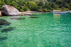 Paraty Bay Rio de Janeiro Brazil Stock Photography