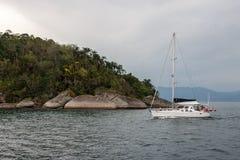 Paraty Bay Rio de Janeiro Brazil Royalty Free Stock Photo