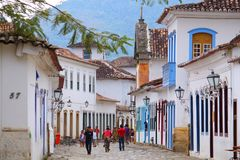 Paraty, Brasil Fotos de Stock Royalty Free