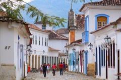 Paraty, Brasile Fotografie Stock Libere da Diritti