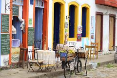 Paraty, Brasile Fotografie Stock