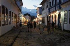 Paraty, Brasilien Stockbild
