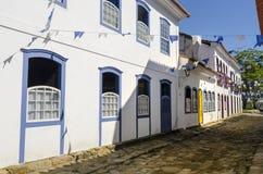 Paraty in Brasilien Stockbilder