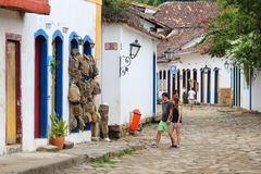 Paraty, Brasilien Stockfotos