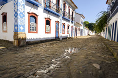 Paraty in Brazil Stock Image