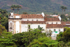Paraty Cathedral Rio de Janeiro Royalty Free Stock Images