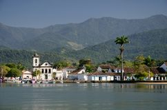 Paraty colonial Foto de Stock Royalty Free