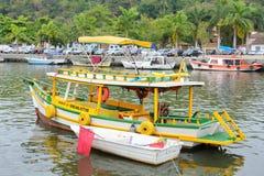 Paraty fishing boat Stock Photos