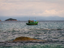 Paraty Fishing Boat stock photo