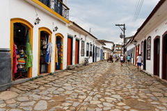 Paraty Historical Building Rio de Janeiro Stock Image