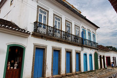 Paraty Historical Building Rio de Janeiro Stock Images