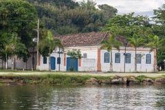 Paraty Historical Building Rio de Janeiro Brazil Stock Images