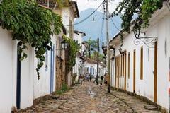 Paraty Historical Buildings Rio de Janeiro Stock Photography