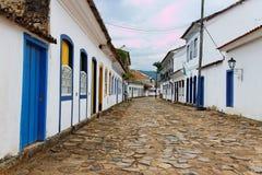 Paraty Historical Housing Rio de Janeiro Royalty Free Stock Images