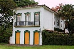 Paraty historisches Haus Stockbild
