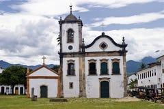 Paraty Igreja de Sankt Rita Lizenzfreie Stockbilder