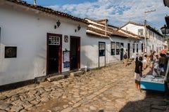 Paraty Rio de Janeiro d'abitazione storico Fotografia Stock