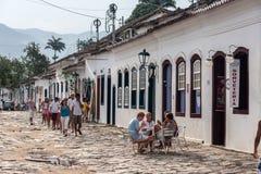 Paraty Rio de Janeiro de construction historique Photo stock