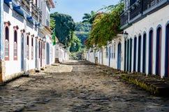 Paraty - Rio de Janeiro. Historic Center of Paraty in Rio de Janeiro, Brazil Stock Images