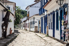 Paraty street Royalty Free Stock Images