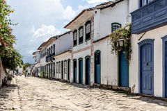 Paraty street Stock Images