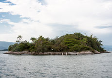 Paraty zatoki wyspa Rio De Janeiro Brazylia Zdjęcia Stock
