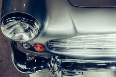 paraurti anteriore su un automo d'annata Fotografie Stock Libere da Diritti