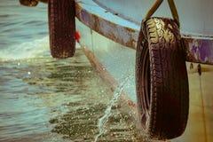 Paraurti della barca Fotografia Stock